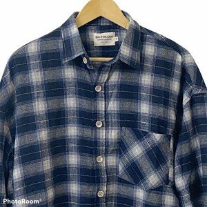 Big For Sam Outstreet Collection Men Flannel Shirt